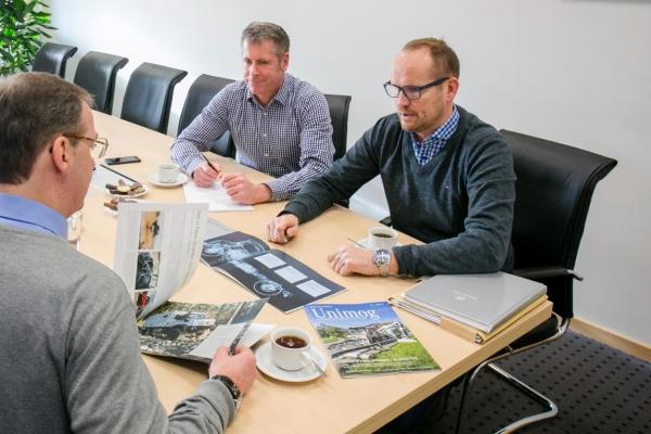 Neuverkauf Beratung Unimog Nutzfahrzeuge Norddeutschland