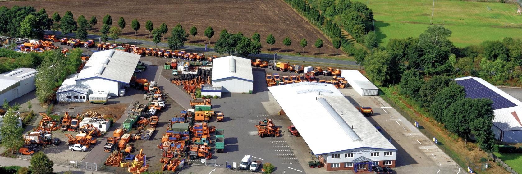 Luftbild Schelling Nutzfahrzeuge Wardenburg