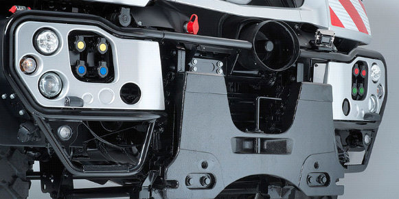 Mercedes-Benz Unimog Frontzapfwelle Heckzapfwelle