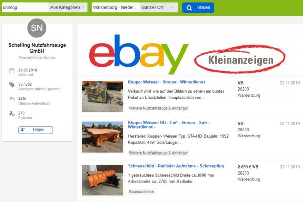 Gebraucht bei ebay-kleinanzeigen.de