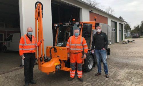 Übergabe Hansa mit Ecotech Aufbau